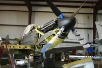 Taken at Douglas GA of the Twin Mustang restoration project